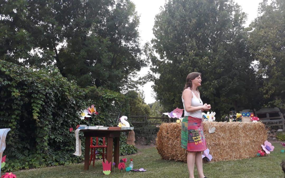 Sandra Araguás en Aínsa
